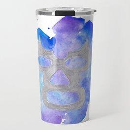 Mexico - Lucha Libre Mask Travel Mug