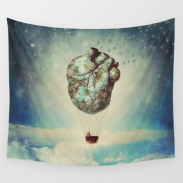 The Unforgettable Love Journey 2 Wall Tapestry