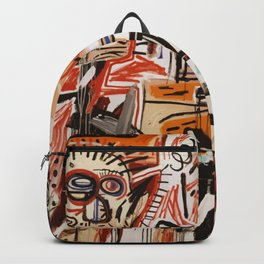 A vectorised Basquiat Backpack