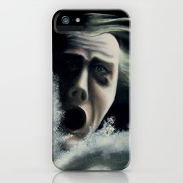 Man overboard iPhone Case