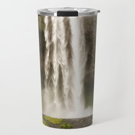 Seljalandsfoss: An Icelandic Treasure Travel Mug
