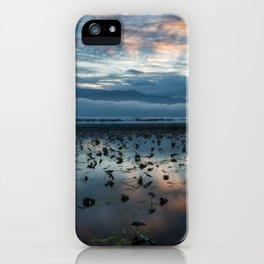 Inle Lake Sunrise iPhone Case