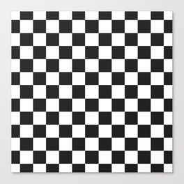 checkerboard pattern Canvas Print