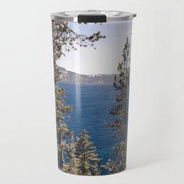 Hidden Lake Love - Nature Photography Travel Mug