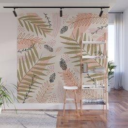 Winter Flourish Wall Mural
