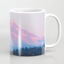 Mount Rainer Alpenglow Coffee Mug
