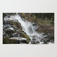 waterfall Area & Throw Rugs featuring Waterfall by Four Hands Art