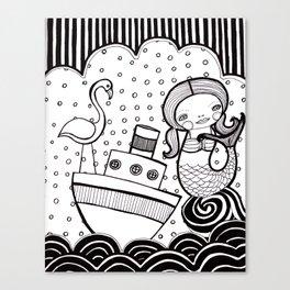 Setting Sail  Canvas Print