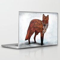 bruce springsteen Laptop & iPad Skins featuring Red Fox by Ben Geiger