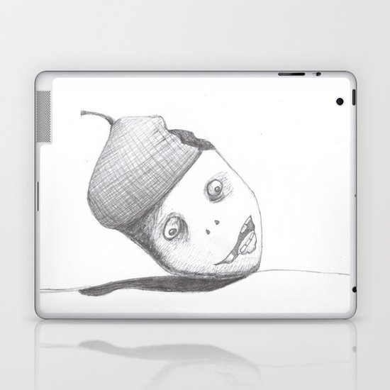 Zombie Acorn Laptop & iPad Skin