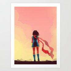 kamala Art Print