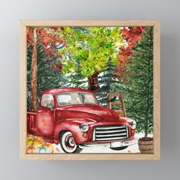 Maple Farms Framed Mini Art Print