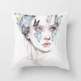 love and sacrifice Throw Pillow