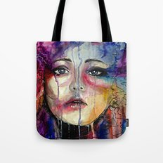 Colourful Tears Tote Bag