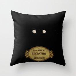 "Bunemo from Black Hole ""O"" (Virginale) Throw Pillow"