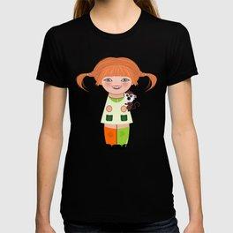 Kokeshi Pippi T-shirt