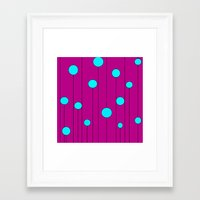 balloons Framed Art Prints featuring Balloons  by JuniqueStudio