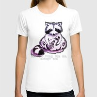 rocket raccoon T-shirts featuring What's raccoon? by Kasia Zajczyk