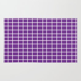 Squares of Purple Rug
