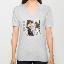 To Give A Scoundrel A Kiss Unisex V-Neck