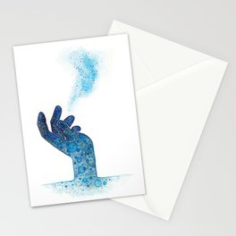 Hand of Magic Stationery Cards