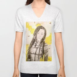 Sunlit Woman Unisex V-Neck