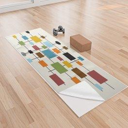 Mid-Century Modern Art 1.3 Yoga Towel