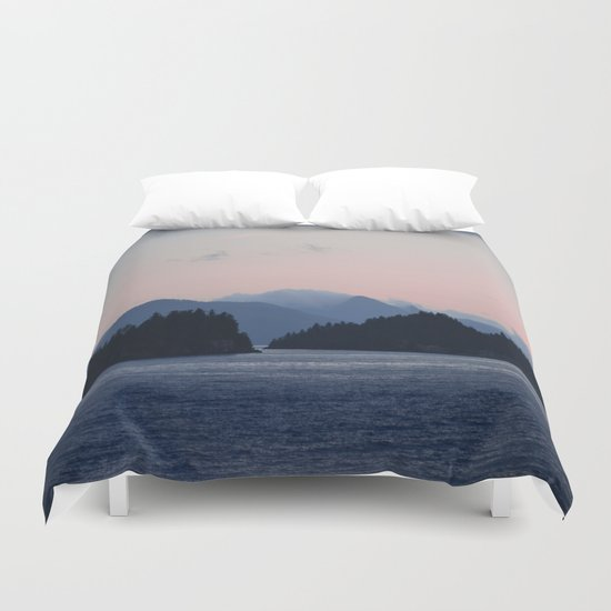 Soon it Will Be Day Duvet Cover