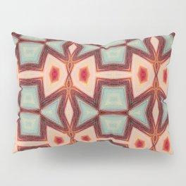 Fish kissing Pattern Art Pillow Sham