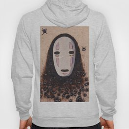 No Face - Spirited Away with Soot sprites (Susuwatari) Hoody