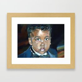 The Ring Bearer Framed Art Print