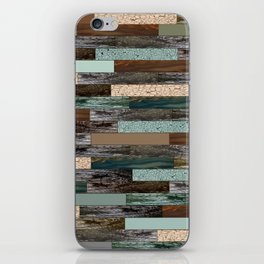Wood in the Wall iPhone Skin
