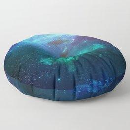 Mystic dolphins Floor Pillow