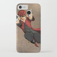 dick iPhone & iPod Cases featuring Dick Turpin by Eco Comics