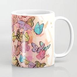 catching butterflies Coffee Mug