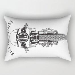 Ride The Machine Rectangular Pillow