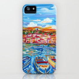 Happy Boats iPhone Case