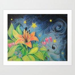 Magic Garden Art Print