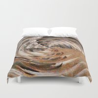 history Duvet Covers featuring History Repeating by tastypaper