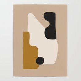 abstract minimal 16 Poster
