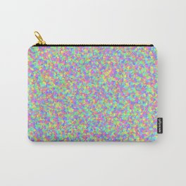 Pastel Triangle Pattern Carry-All Pouch