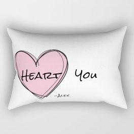 I heart you Rectangular Pillow