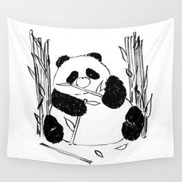 Fat Panda Wall Tapestry
