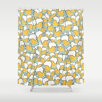 beer Shower Curtains featuring Beer! by Chris Hoffmann Design