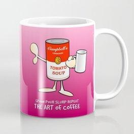 Tomato soup mug (pink) Coffee Mug