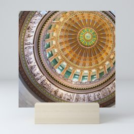 Capitol Rotunda Mini Art Print