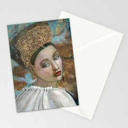The last strains of music Stationery Cards