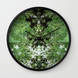 Fuji In May Wall Clock