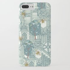 hexagon city iPhone 7 Plus Slim Case