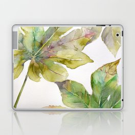 Aralia japonica Leaves Foliage Laptop & iPad Skin